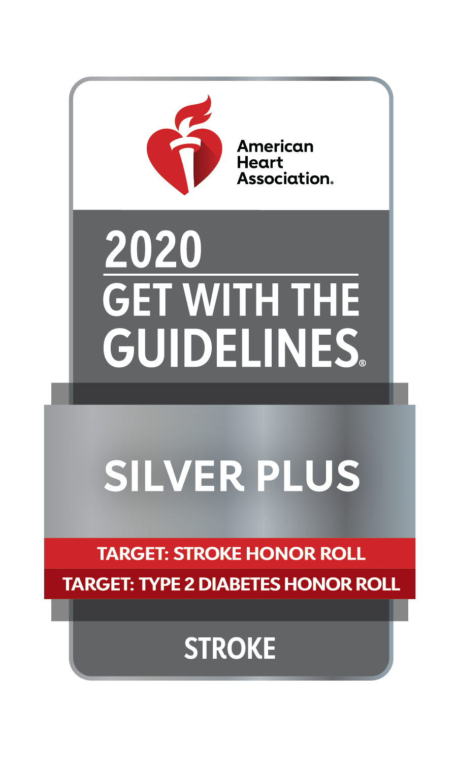 Get With The Guidelines-Stroke Silver Plus Quality Achievement Award
